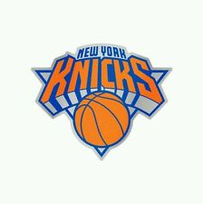 "NEW YORK KNICKS MIRRORED AUTO BADGE CAR EMBLEM DECAL 3""×5"" NEW!"