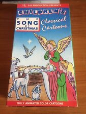The Song of Christmas (VHS) Children's classical cartoon...58