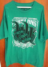 HART & HUNTINGTON Tattoo Company XL T shirt Carey Hart tee MX Tampa Ink Rock OG