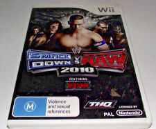 Smack Down Vs Raw 2010 Nintendo Wii PAL *Complete* Wii U Compatible