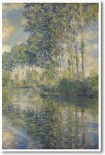 Claude MONET - Poplars on the Epte - French Impressionist  Art Print NEW POSTER