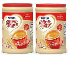 2 Packs, Nestle Coffee-mate Powder Original Non-Dairy Creamer Canister 56 oz.