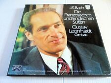 J.S. BACH: THE FRENCH AND ENGLISH SUITES~5 LP~GUSTAV LEONHARDT~1976