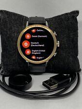 Fossil Gen 4 Authentic Digital Dial Smart Watch Custom Band FTW6016 LT341
