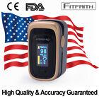 Finger Pulse Oximeter Blood Oxygen SpO2 Monitor PR PI Respiratory Rate FDA & CE