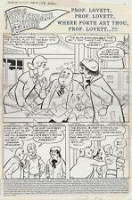 Archie - 6 Page Story Original Art
