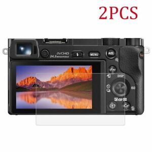 2x Tempered Glass Screen Protector for Sony A7II A7R2 A72 A9 A73 A7R3 A7III A7M3