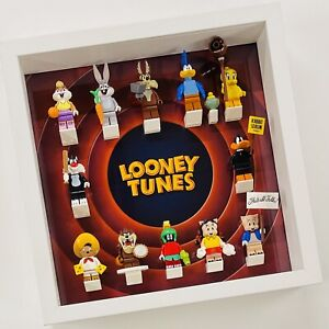 Display Frame for Lego Looney Tunes minifigures 71030 no figures 27cm