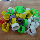 200 pcs 20mm Chicken Leg Bands Chicken Poultry Rings 5 Colors