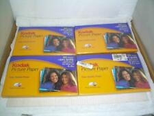 "4 Kodak Picture Paper 140 Sheets Soft Gloss 4""x 6"" Print on Both Sides - Sealed"