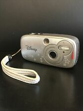 Used - Working Digital Blue Disney Pix Max Silver Stars 3.0MP Digital Camera