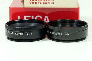 Leica Macrotar/Elpro Ser VI Set of two In BOXES