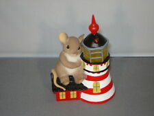 Charming Tails Lighted Lighthouse There is a Beacon in the Night Rare Retired