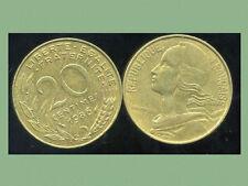 20 centimes  MARIANNE 1986