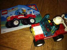 LEGO system anni 90 6511 Auto macchina dei pompieri city città usato