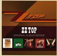 ZZ TOP Original 5CD NEW Rio Grande Mud/Tres Hombres/Fandango/Deguello/Eliminator