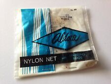 VINTAGE NEW IN PACKAGE ALDORA BLONDE NYLON HAIR NET WITH SPARKLING BEADS