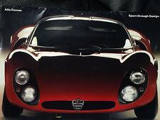 ALFA ROMEO GIULIETTA GIULIA TZ 2 GT Junior 33/2 STRADALE SZ COUPE Design musuem