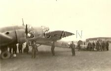WWII Ger RP- Luftwaffe- Airplane- Dornier Do-217 Bomber- Flying Pencil- Crash