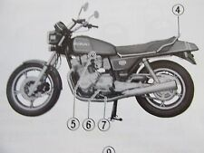 suzuki 1980 year of publication motorcycle service \u0026 repair manuals Suzuki Gsxr 1100 Wiring Diagram suzuki gs1100e owners manual dated 1980 73 pages \u0026 wiring diagram in book mint