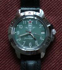 Wrist Mechanical Watch VOSTOK KOMANDIRSKIE Airborne VDV Military 431307