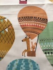 Kids Balloons by Exclusive Cotton Curtain Upholstery Fabric Craft 2 Metre Piece