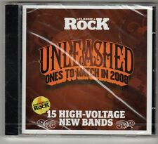 (GO978) Unleashed, Ones to Watch in 2008, 15 tracks - Sealed Classic Rock CD