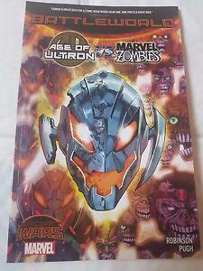 Marvel Secret Wars Age of Ultron vs Marvel Zombies Warzones Trade Paperback