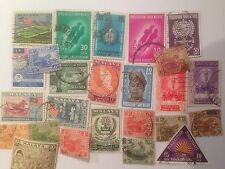 25 Different Malay States Stamp Collection - Federated and Federation