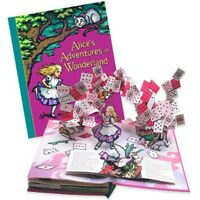 Alice In Wonderland Pop Up Book by Robert Sabuda 1st Edition, Signed,  New