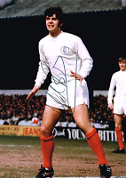 MICK BATES 1968 SIGNED  6x4 inch PHOTO COA LEEDS UNITED AUTOGRAPH UTD