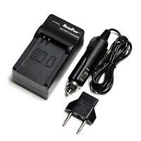 Camera Battery Charger For NIKON EN-EL3E D200 D80 D90 Wall + Car + USB