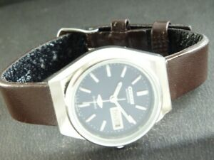 VINTAGE CITIZEN AUTOMATIC JAPAN WOMENS DAY/DATE WATCH 432o-a218681-3