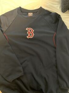 Boston Red Sox Pullover- On Field, Large, Baseball Jacket