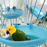 Small Parrot Bird Bathtub Pet Cage Accessories Bird Mirror Bath Shower Box WDS