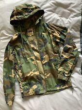 Pull and Bear Men's Camo Jacket Hoodie BNWOT Coat Zara