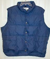 Vintage Woolrich Men's Size M Down Puffer Vest Blue Ski Winter