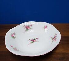 "SHELLEY England Rose Spray/bud 13545 fruit sauce bowl 5-3/8"" across"