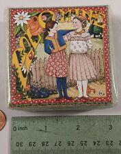 Mary Engelbreit Pal o Mine Pooch and Sweetheart Gilt Box