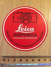Leica Historica Rangefinder M240 monochrome M9 M6 style 7cm decal sticker #1464