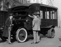 "1921 US Mail Truck Old Photo 8.5"" x 11"" Reprint"