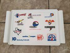 Aba American Basketball Association Vintage Tray Team Logos Early 70's Defunct