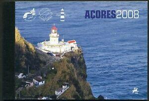 Portugal Azores 511a-519a booklet,MNH. EUROPE CEPT-2008,Bird Pyrrhula Murina,