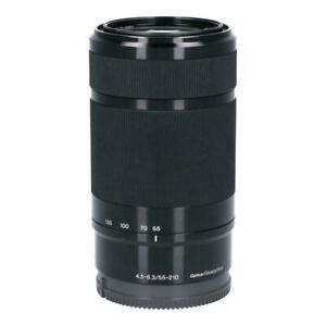 Sony E 55-210mm F/4,5-6,3 OSS Objetivo - Negro