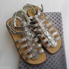 sandales cuir acier BELLAMY  modèle Envers  taille 33 NEUVES