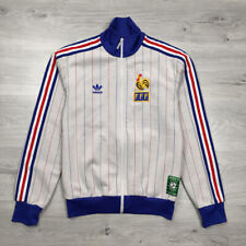 France 1982 World Cup Football Soccer Reissue Adidas Track Jacket Carre Magique