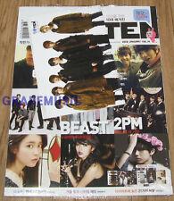 TENTEN 10TEN BEAST 2PM YG FAMILY BOYFRIEND IU K-POP MAGAZINE 2012 JAN NEW