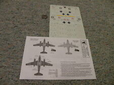 Eagle Strike  decals 1/72 72007 ME-262 Sturmbirds two seaters   N73