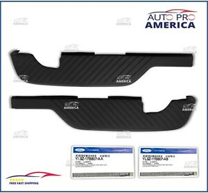 NEW OEM FORD F-150 REAR Bumper Top Step Pad Driver's & Passenger Side Flareside