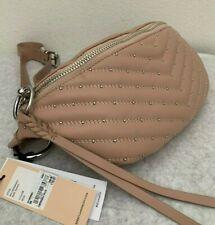 NWT!! Rebecca Minkoff Edie Leather Sling Waist Bag $248 Doe